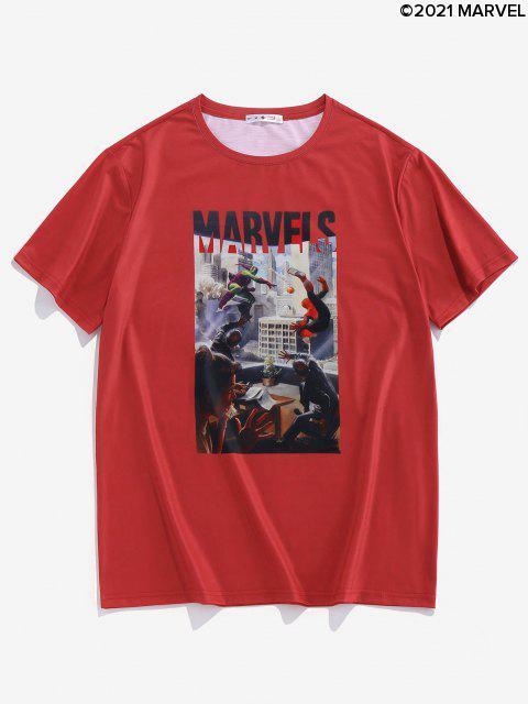 T-shirtGraphiqueMarvel Spider-Man - Rouge S Mobile
