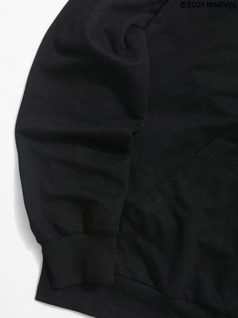 SweatàCapucheLettreImprimérMarvelSpider-Man - Noir S Mobile