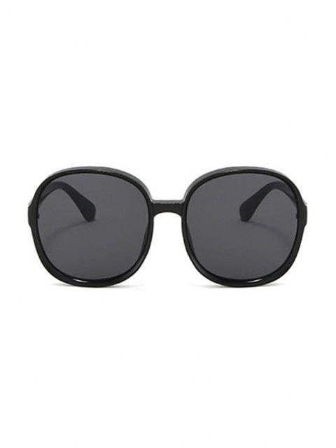 Occhiali da Sole Rotondi Classici con Montatura Scura - Nero  Mobile