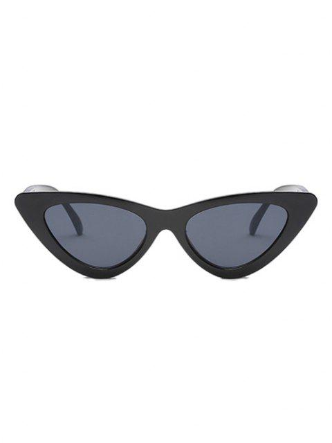 unique Retro Triangular Frame UV Protected Sunglasses - BLACK  Mobile