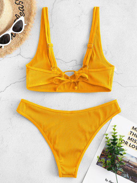 Bikini di ZAFUL a Costine - Giallo S Mobile