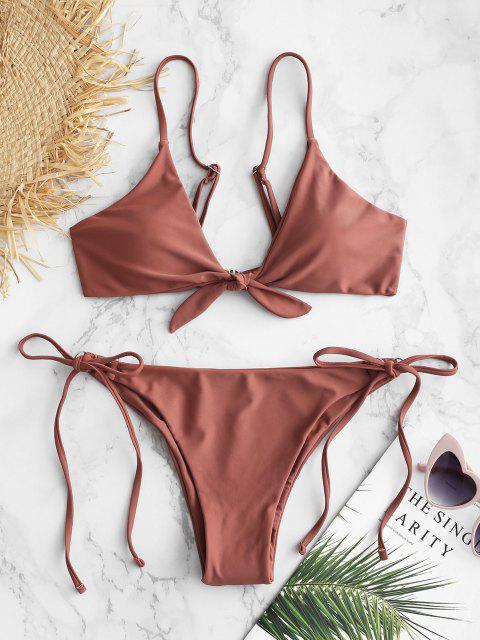 Bikini Di ZAFUL Annodato - Rosa Rossetto S Mobile