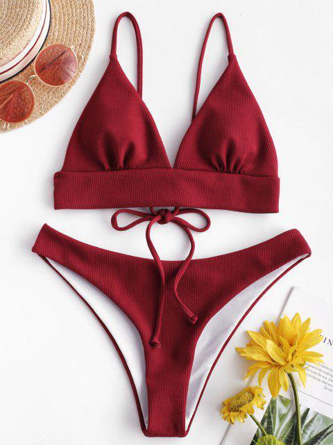 Bikini a CostinesenzaFerretto di ZAFUL - Vino Rosso L Mobile