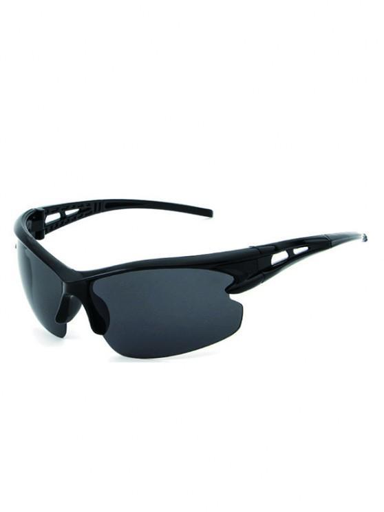 women's Sports Windproof Cycling Sunglasses - BLACK