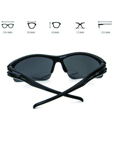 women's Sports Windproof Cycling Sunglasses - BLACK  Mobile
