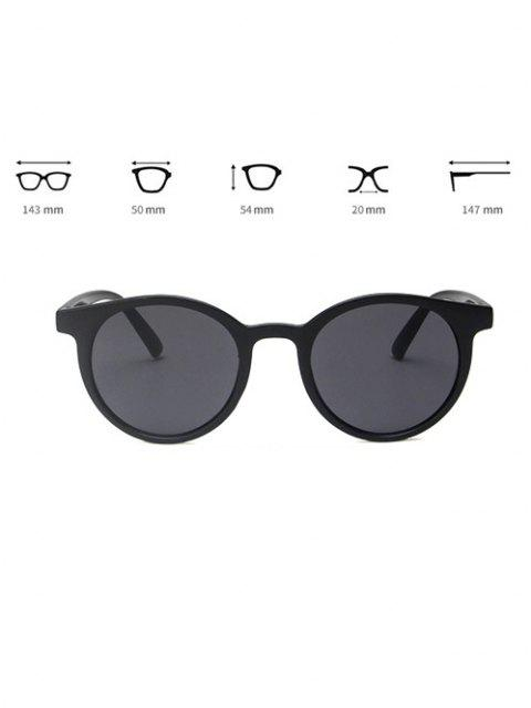 best Brief Round Travel Sunglasses - BLACK  Mobile