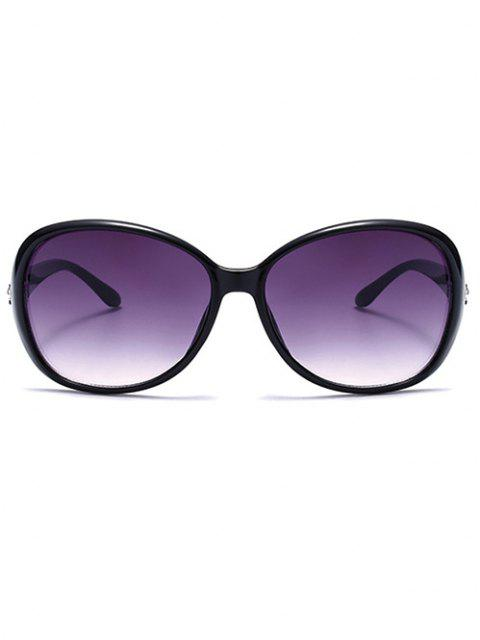 unique Embellished Temple Ombre Butterfly Sunglasses - PURPLE  Mobile