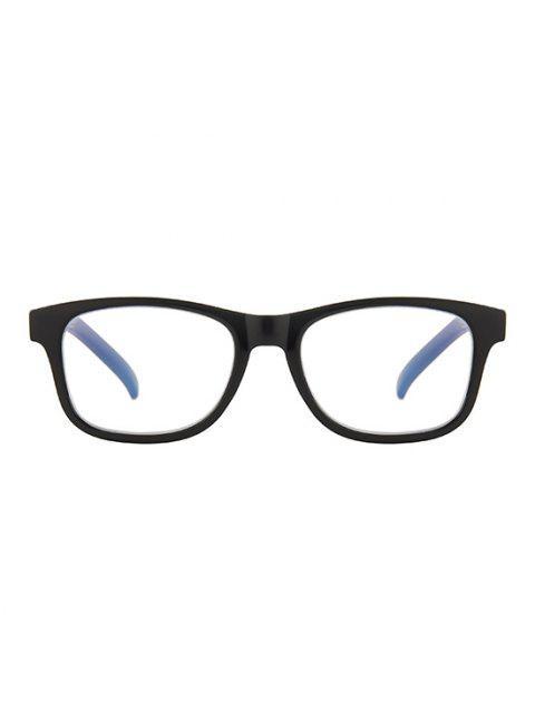 Basik Quadratischer Rahmen Leichte Brille - Schwarz  Mobile