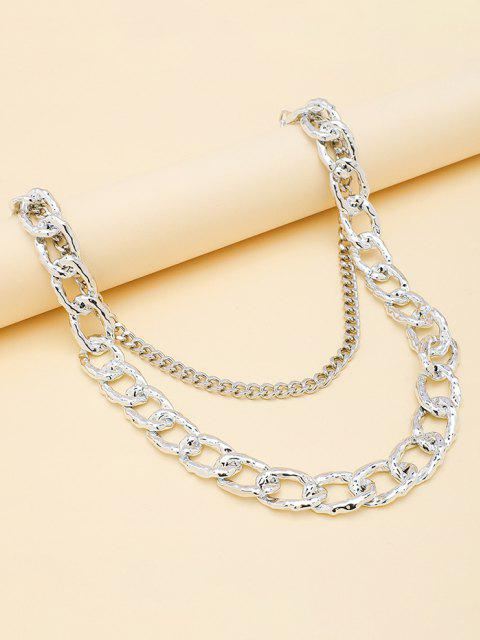best Layered Boyish Trousers Chain - SILVER  Mobile