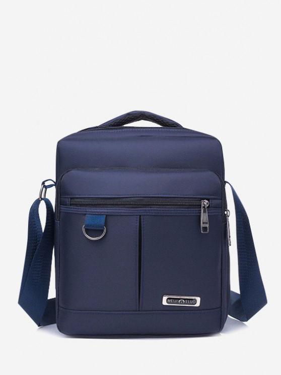 lady Multi-function Square Shoulder Bag - CADETBLUE