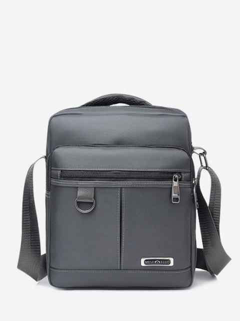ladies Multi-function Square Shoulder Bag - GRAY CLOUD  Mobile