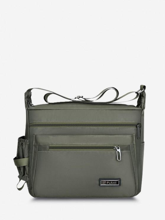 womens Business Outdoor Rectangle Shoulder Bag - MEDIUM SPRING GREEN