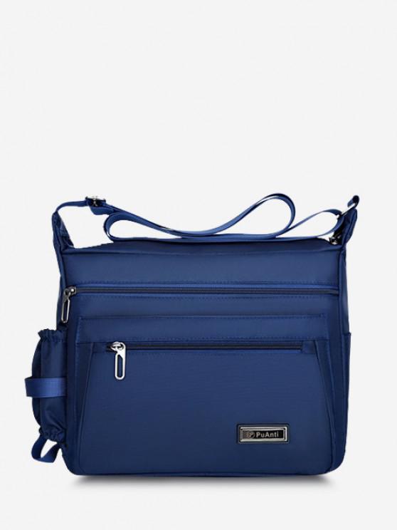 women Business Outdoor Rectangle Shoulder Bag - BLUE
