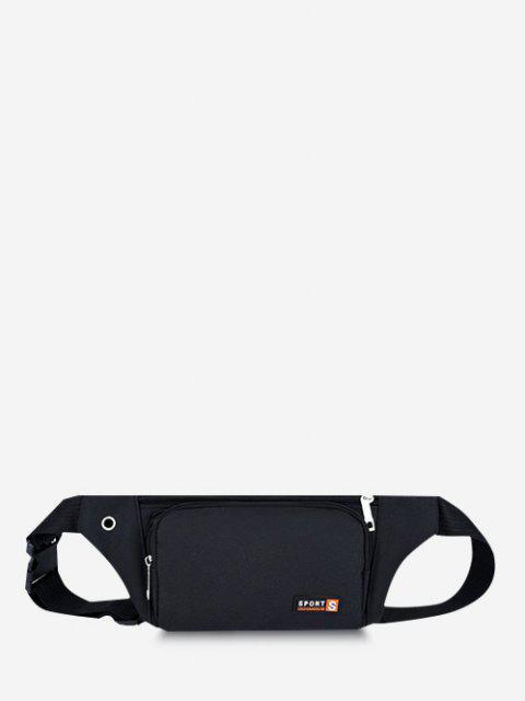 スポーツ携帯電話胸ウエストバッグ - ブラック  Mobile