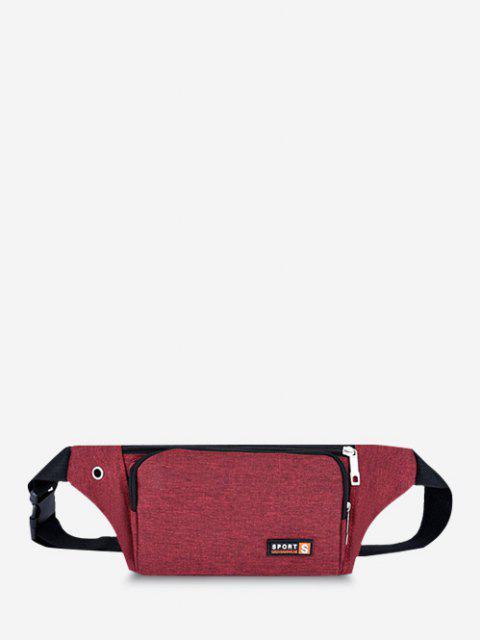 Sac de Taille pour Téléphone Portable - Rouge  Mobile