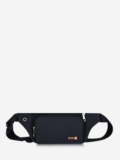 Sac De Taille Pour Téléphone Portable - Noir