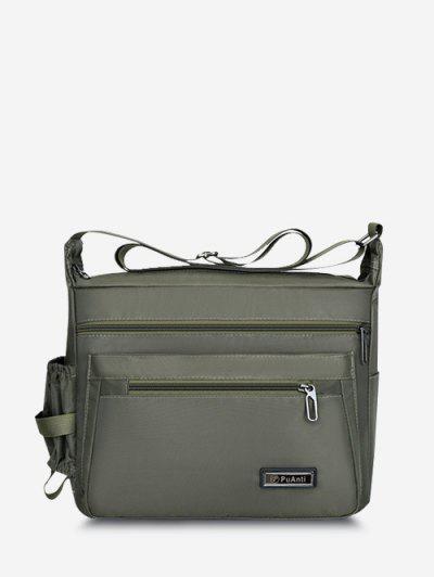Business Outdoor Rectangle Shoulder Bag - Medium Spring Green