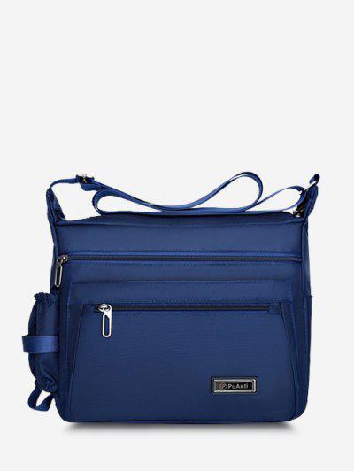 Business Outdoor Rectangle Shoulder Bag - Blue