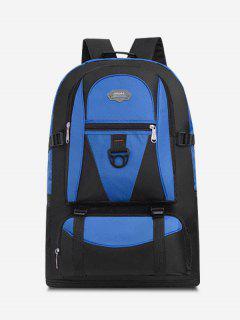 Multifunctional Waterproof Outdoor Travel Backpack - Blue