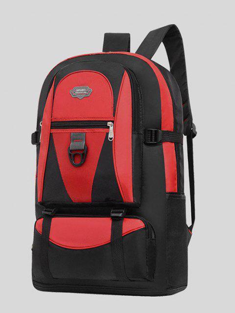 sale Multifunctional Waterproof Outdoor Travel Backpack - RED  Mobile