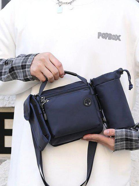 women Multifunctional Waterproof Outdoor Casual Sport Bag - DEEP BLUE  Mobile