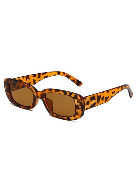 Calça de Sol de Retângulo Arredondado - Leopardo