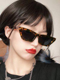 Retro Street Unregelmäßige Sonnenbrille - Leopard