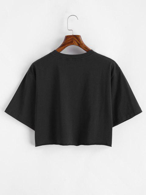 T-Shirt Corta - Nero M Mobile