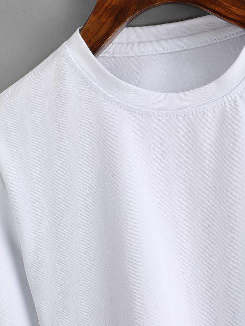 women Basic Crop Tee - WHITE S Mobile