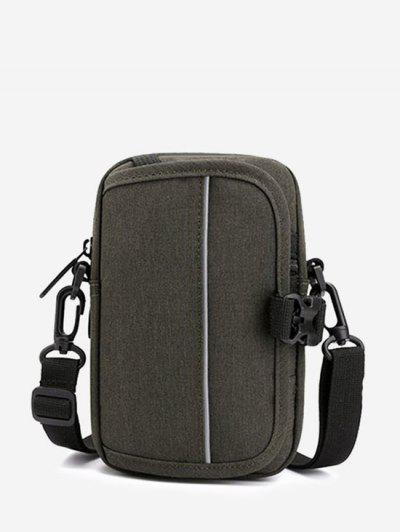 Multifunctional Convertible Casual Mini Waist Bag - Jungle Green