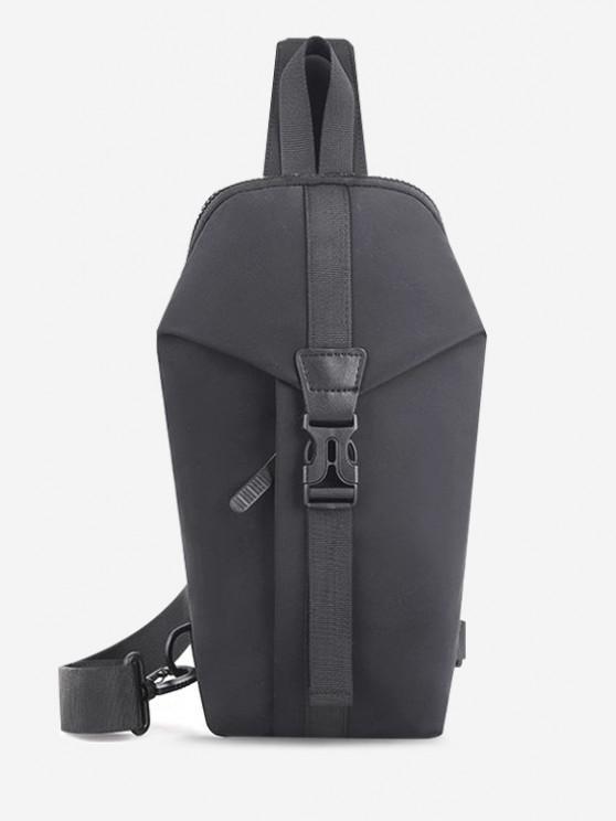 Casual Multi-function Travel Chest Bag - اللون الرمادي