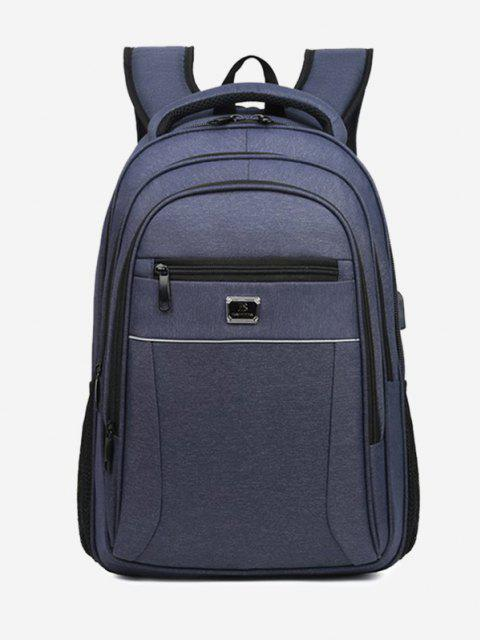 ビジネス旅行多機能バックパック - 青  Mobile