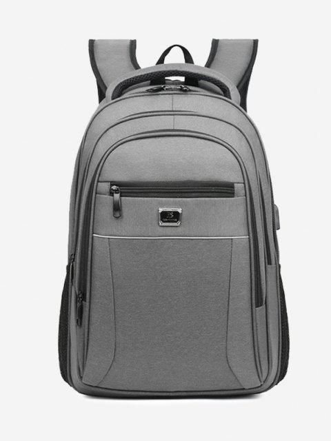 women's Business Travel Multifunction Backpack - GRAY  Mobile