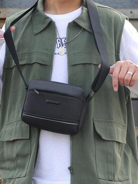ビジネス防水スモールショルダーバッグ - ブラック  Mobile