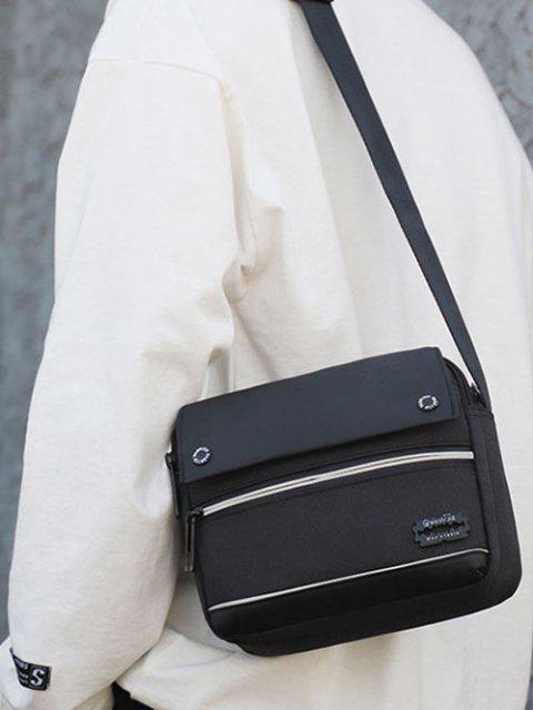 レジャービジネス防水ショルダーバッグ - ブラック  Mobile