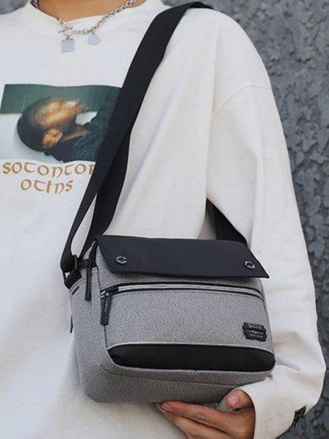 sale Leisure Business Waterproof Shoulder Bag - LIGHT GRAY  Mobile