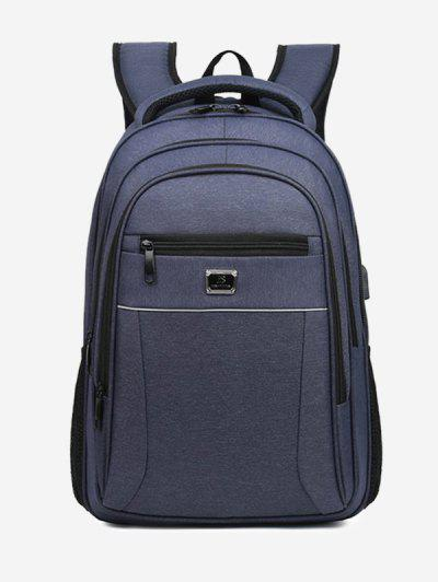 Business Travel Multifunction Backpack - Blue