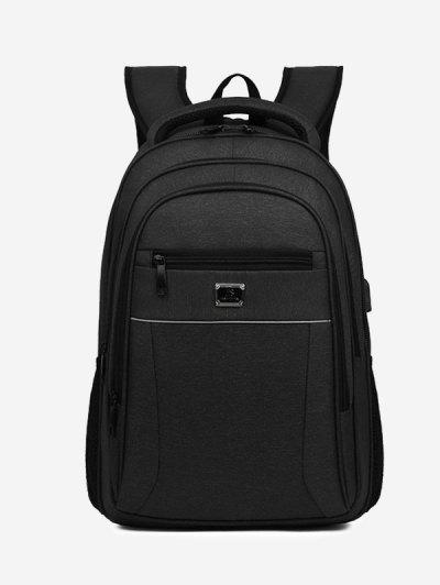 Business Travel Multifunction Backpack - Black