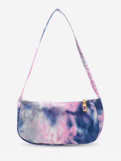 Cotton Cloud Print Mini Shoulder Bag - Light Purple
