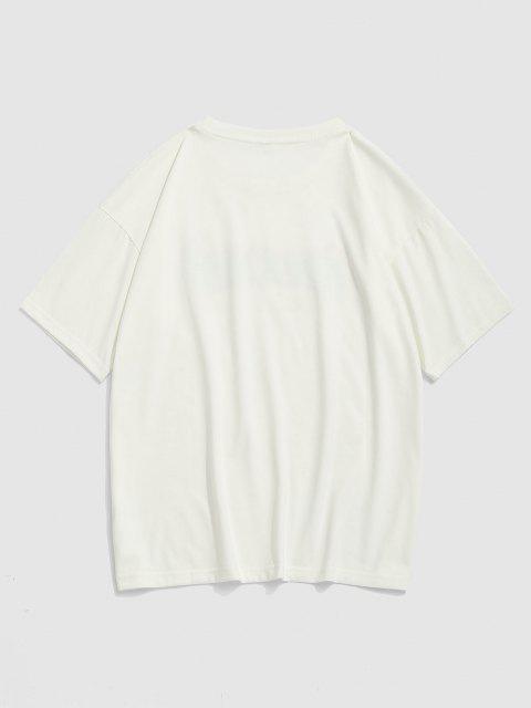 Fire Dreamer Short Sleeve Basic T-shirt - أبيض L Mobile