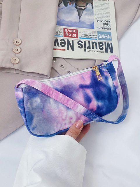 Mini Bolsa Al Hombro y Estampado Nube - purpúreo claro  Mobile