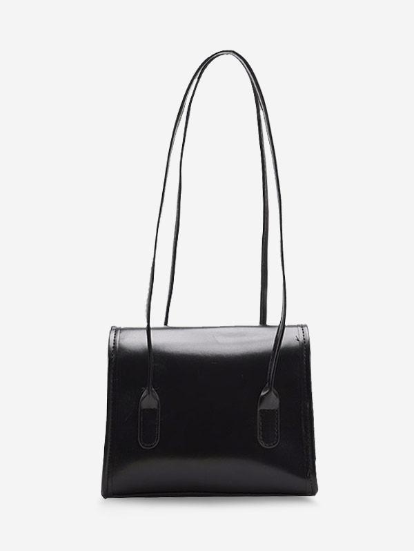 Retro Square Cover Shoulder Bag