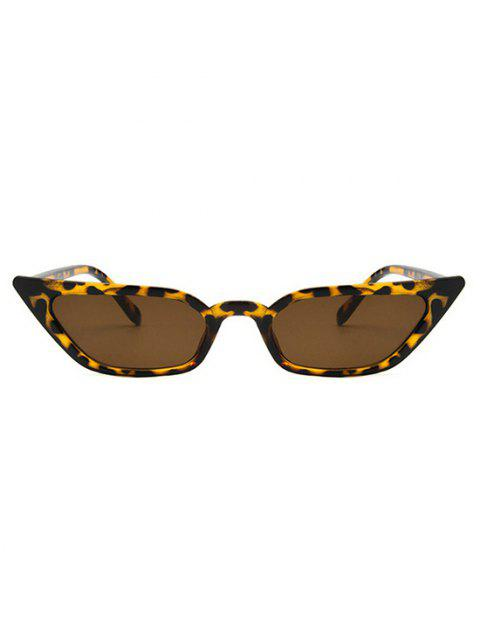 buy Eye Frame Slim Tinted Anti UV Sunglasses - LEOPARD  Mobile