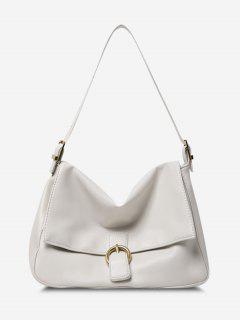 Brief Cover Shoulder Bag - White