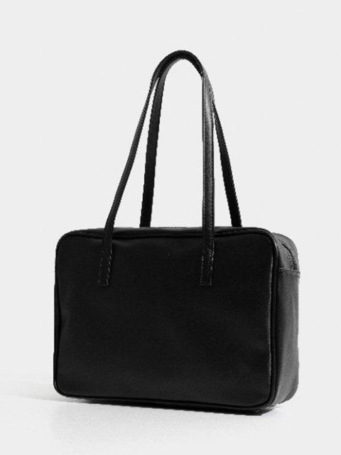 womens Minimalist Business Shoulder Bag - BLACK  Mobile