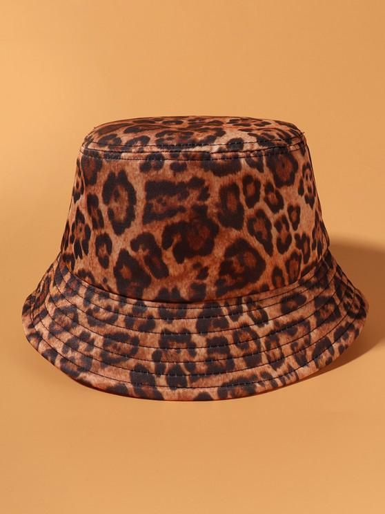 Leopard Printed Casual Street Bucket Hat - فهد