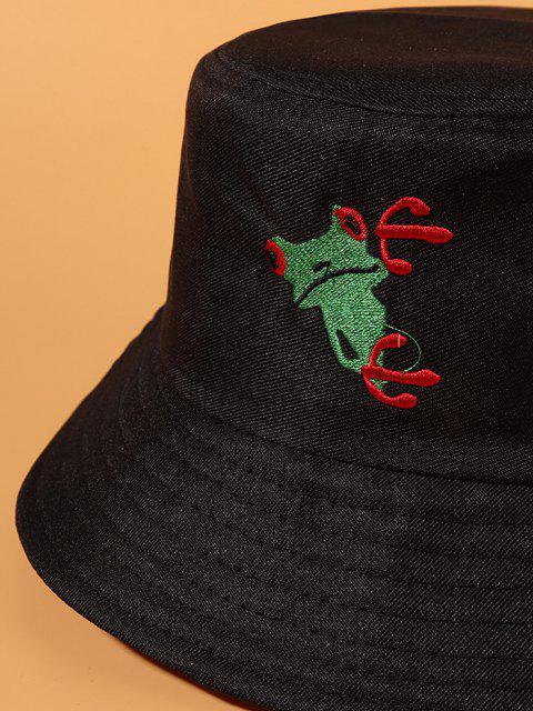 Rana Ocasional del Sombrero de Cubo del Cubo de La Rana - Negro  Mobile