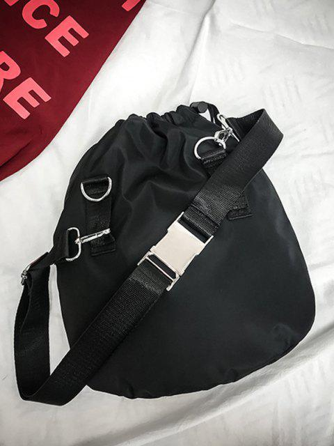 Seitlicher Veröffentlichung Schnalle Hochleistungsrucksack - Schwarz  Mobile