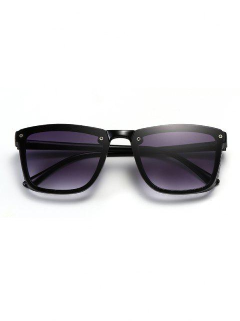 Sqaure Unframed Anti UV Tinted Sunglasses - ليل  Mobile