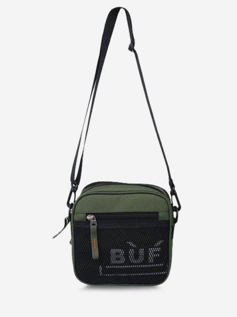 Mini Quadrat Kopf Lässige Schlinge Tasche - Mittleres Meer Grün  Mobile
